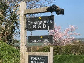 Greenacres Entrance